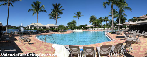 There is no need to plan a trip to an expensive tropical resort when you can have all this at home in Valencia Falls - Delray Beach's premier active adult community.